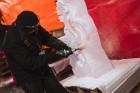 Jelgavā tapušas pirmās 30 ledus skulptūras 6