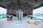 Jelgavā tapušas pirmās 30 ledus skulptūras 25