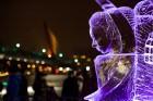 Aizvadīts Starptautiskais Ledus skulptūru festivāls 20