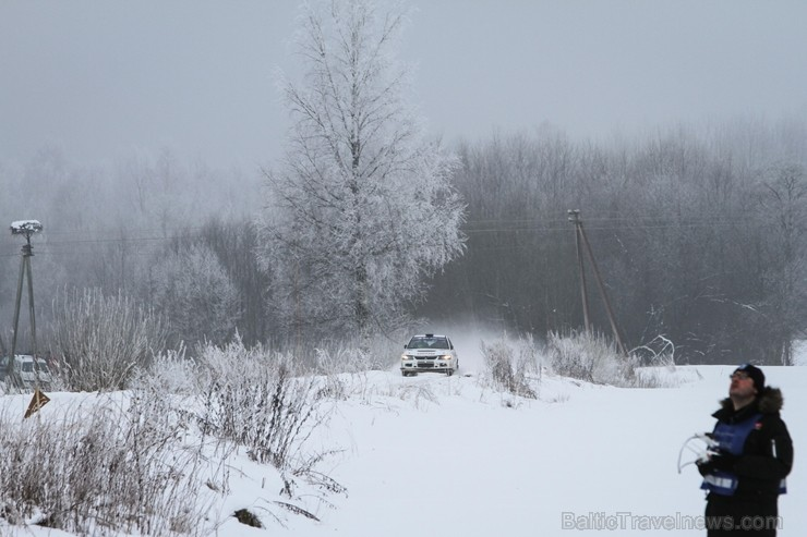 Aizraujošās, sniegotās cīņās aizvada «Rallijs Sarma 2018». Foto: Gatis Smudzis