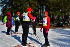 Jēkabpilī norisinās «Ziemīšu jampadrača» stundas slēpojums 5