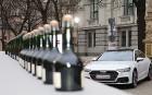 Latvijas Nacionālais mākslas muzejā jaunais «Audi A7 Sportback» prezentējas ar labāko šampanieti 20