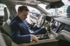 Latvijā 12.03.2018. tiek prezentēts jaunais un elegantais Volvo V60 Foto: balticpictures.lv 36