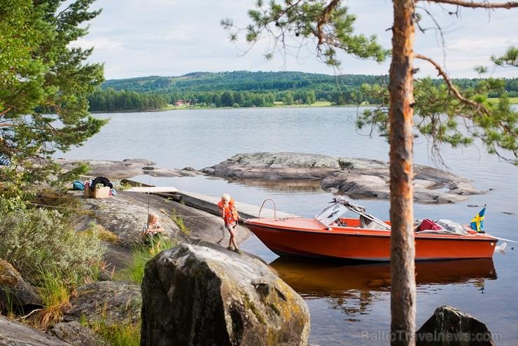 Iepazīsti Zviedrijas dabas dažādību. Foto: Johan Willner/imagebank.sweden.se