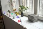 Urbānās Parīzes nekurienes vidū - mākslinieku mājā - meklējams smalks restorāniņš «The Office» 19