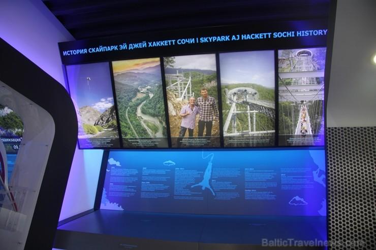 Travelnews.lv pārvar bailes no augstuma unikālajā Soču «Skypark». Atbalsta: Rosa Khutor