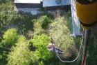 Travelnews.lv pārvar bailes no augstuma unikālajā Soču «Skypark». Atbalsta: Rosa Khutor 21