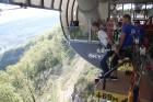 Travelnews.lv pārvar bailes no augstuma unikālajā Soču «Skypark». Atbalsta: Rosa Khutor 18