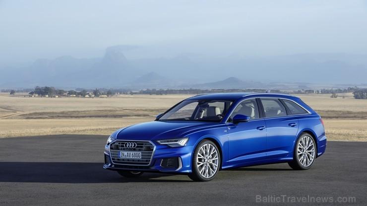 Iepazīsti jauno Audi A6 Avant