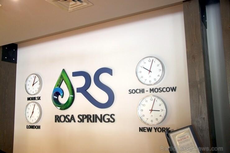 Travelnews.lv izbauda četrzvaigžņu «Rosa Springs» komfortu Sočos