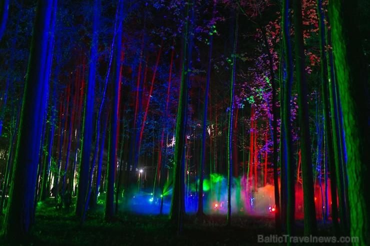 Valmierā norit ikgadējā «Maģisko sajūtu nakts 2018»