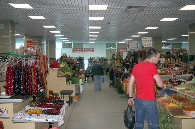 Travelnews.lv iepērkas Soču tirgū Atbalsta  Rosa Khutor kūrorts