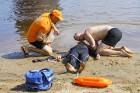 Līdz ar peldsezonas sākšanos, Rīgas pludmales sākuši uzmanīt glābēji 3
