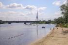 Līdz ar peldsezonas sākšanos, Rīgas pludmales sākuši uzmanīt glābēji 8