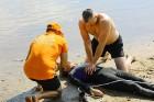 Līdz ar peldsezonas sākšanos, Rīgas pludmales sākuši uzmanīt glābēji 17