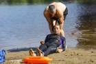 Līdz ar peldsezonas sākšanos, Rīgas pludmales sākuši uzmanīt glābēji 18