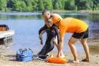 Līdz ar peldsezonas sākšanos, Rīgas pludmales sākuši uzmanīt glābēji 19