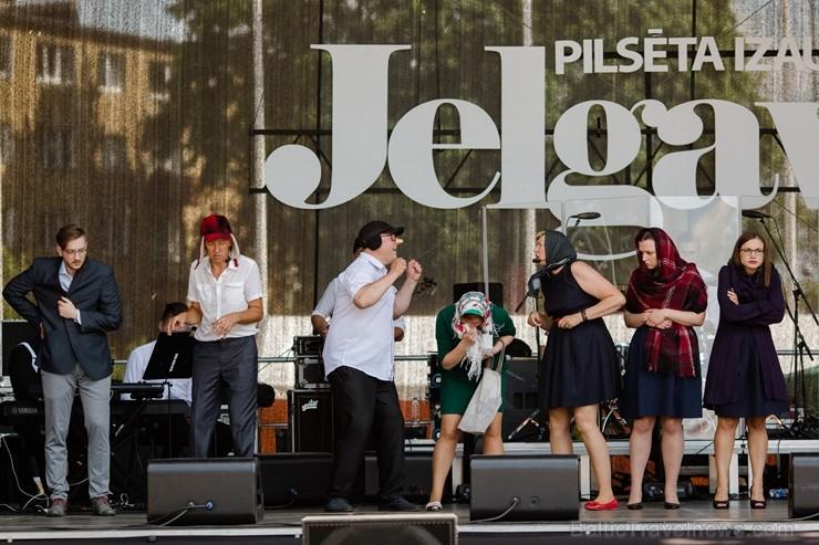 753. dzimšanas dienā Jelgavas iedzīvotāji un viesi varēja baudīt plašu izklaides un kultūras programu
