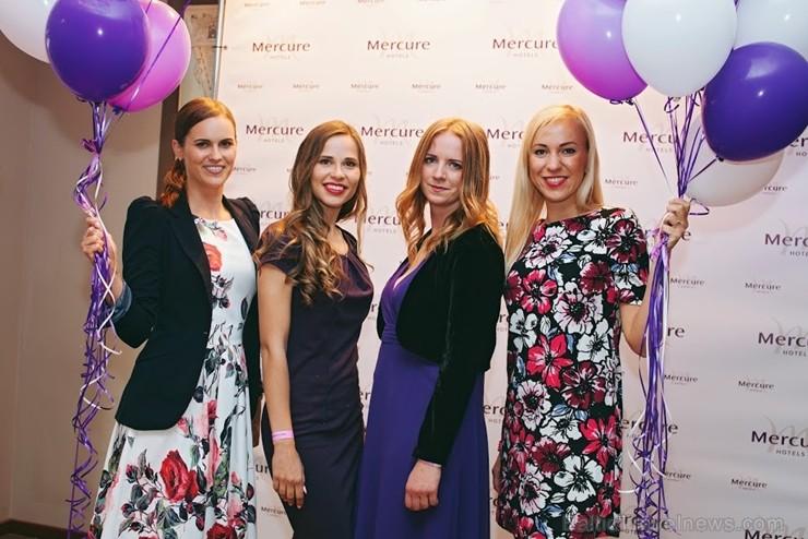Rīgas četru zvaigžņu viesnīca «Mercure Riga Centre» atzīmē 4 gadu jubileju