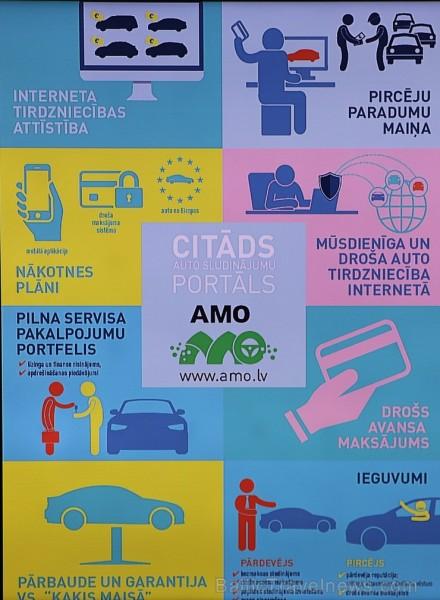 Restorāna gaisotnē tiek prezentēts citāds auto sludinājumu portāls «Amo» 225002