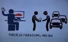 Restorāna gaisotnē tiek prezentēts citāds auto sludinājumu portāls «Amo» 2