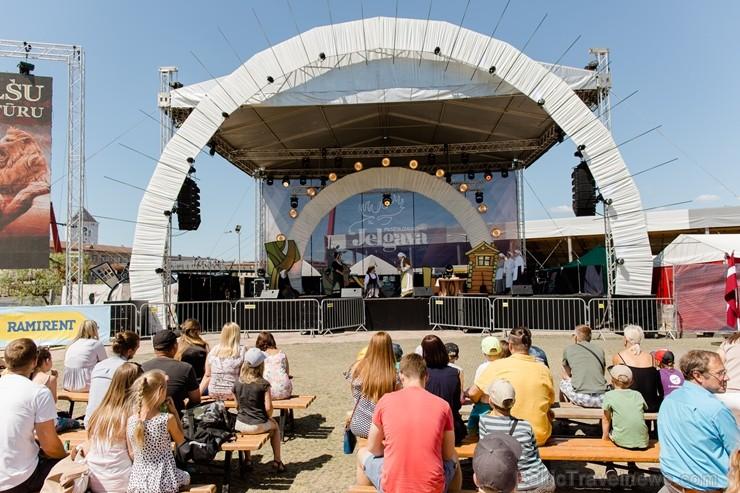Jelgavā  aizvadīts jau 12. Starptautiskais smilšu skulptūru festivāls