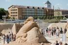 Jelgavā  aizvadīts jau 12. Starptautiskais smilšu skulptūru festivāls 15