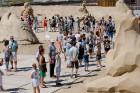 Jelgavā  aizvadīts jau 12. Starptautiskais smilšu skulptūru festivāls 17