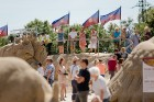 Jelgavā  aizvadīts jau 12. Starptautiskais smilšu skulptūru festivāls 21