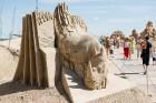 Jelgavā  aizvadīts jau 12. Starptautiskais smilšu skulptūru festivāls 25
