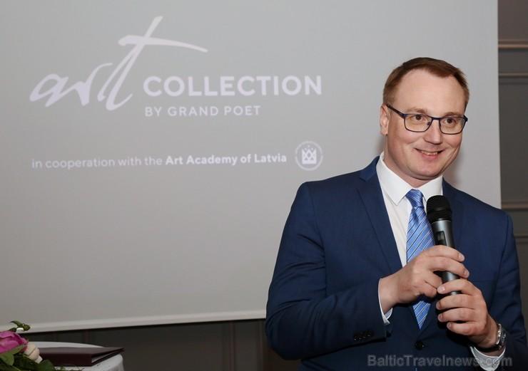 «SemaraH Hotels» apņemas atbalstīt jaunos Latvijas māksliniekus