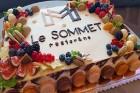 Pārdaugavas viesnīca «Bellevue Park Hotel Riga» atklāj restorāna «Le Sommet» jumta terasi ar burvīgu Rīgas skatu. Foto: Samsung Galaxy Note8 1