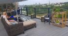 Pārdaugavas viesnīca «Bellevue Park Hotel Riga» atklāj restorāna «Le Sommet» jumta terasi ar burvīgu Rīgas skatu. Foto: Samsung Galaxy Note8 3