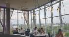 Pārdaugavas viesnīca «Bellevue Park Hotel Riga» atklāj restorāna «Le Sommet» jumta terasi ar burvīgu Rīgas skatu. Foto: Samsung Galaxy Note8 11
