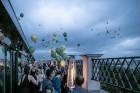 «Grand Hotel Kempinski Riga» atklāj panoramas bāru-restorānu «Stage 22» 22
