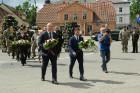 Cēsīs ar kauju rekonstrukciju un dejām, svin Latvijas Uzvaras dienu 6