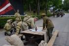 Cēsīs ar kauju rekonstrukciju un dejām, svin Latvijas Uzvaras dienu 32