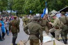 Cēsīs ar kauju rekonstrukciju un dejām, svin Latvijas Uzvaras dienu 36