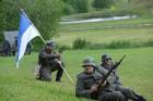Cēsīs ar kauju rekonstrukciju un dejām, svin Latvijas Uzvaras dienu 43
