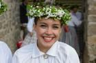 Cēsīs ar kauju rekonstrukciju un dejām, svin Latvijas Uzvaras dienu 61