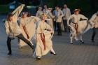 Cēsīs ar kauju rekonstrukciju un dejām, svin Latvijas Uzvaras dienu 72