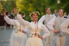 Cēsīs ar kauju rekonstrukciju un dejām, svin Latvijas Uzvaras dienu 81