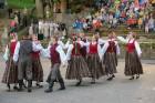 Cēsīs ar kauju rekonstrukciju un dejām, svin Latvijas Uzvaras dienu 84
