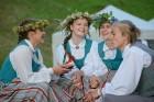 Cēsīs ar kauju rekonstrukciju un dejām, svin Latvijas Uzvaras dienu 89
