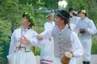 Cēsīs ar kauju rekonstrukciju un dejām, svin Latvijas Uzvaras dienu 90