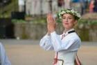Cēsīs ar kauju rekonstrukciju un dejām, svin Latvijas Uzvaras dienu 91