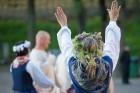 Cēsīs ar kauju rekonstrukciju un dejām, svin Latvijas Uzvaras dienu 97
