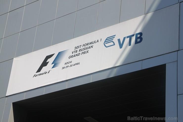 Travelnews.lv apmeklē F1 trasi Sočos
