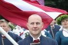 Dziesmu un deju svētku atklāšanas gājiens pulcē Rīgā visus Latvijas novadus (601-700) 1