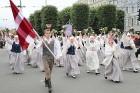 Dziesmu un deju svētku atklāšanas gājiens pulcē Rīgā visus Latvijas novadus (601-700) 7